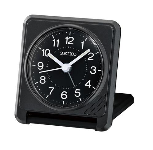 Sachi Travel Clock Black