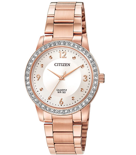 Citizen Crystal Accent Rose-Tone