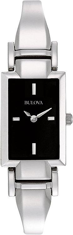 Ladies Black Dial Bulova 96L138