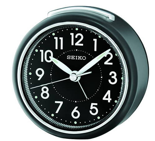 Seiko Alarm - QHE125 Blk/blk
