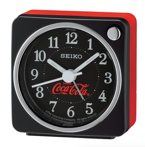 "2"" Coca-Cola® Silent Snooze Night Light Alarm Clock"