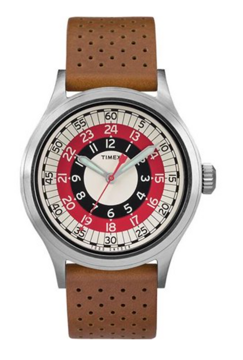 Timex x Todd Snyder MOD Inspired 40mm Fabric Strap Watch