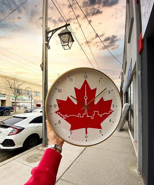 Custom Toronto Wall Clock