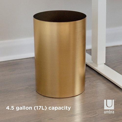 Umbra Gold Garbage Bin