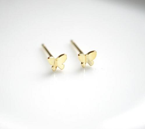 Minimalist Butterfly Earring