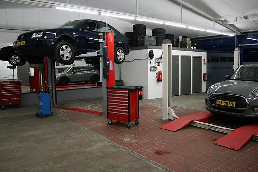 Werkplaats DMT Auto's