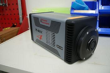 Intensified CCD camera