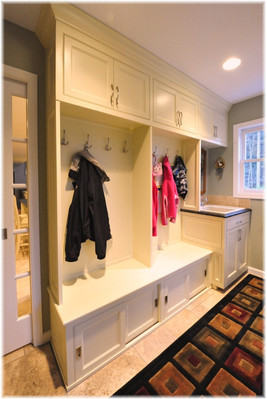 Large 2 Section Mudroom