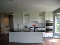 Shaker Style w/ glass cabinets