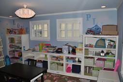 Childrens Room Wall Storage