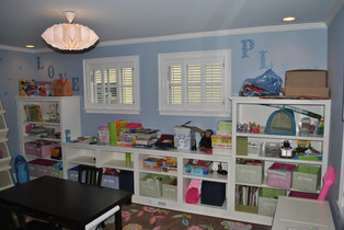 Childrens Room Wall Storage