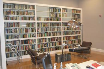 Full Wall Office Bookshelves