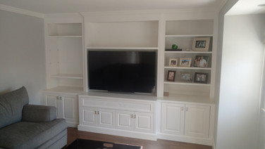 Small Full Wall White