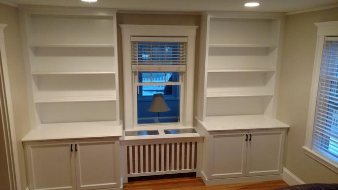 Full Wall Bedroom around Window