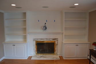 Full Wall with Fireplace