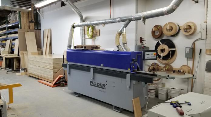 Wood Edge Laminator