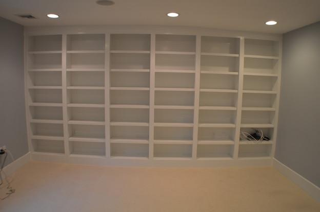 Full Wall Storage Shelving