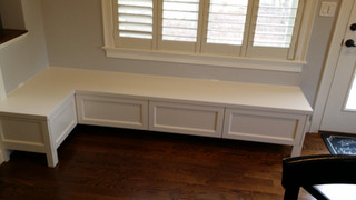 4 Section Bench with Storage