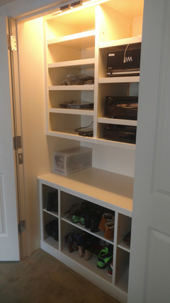 Full Closet Storage