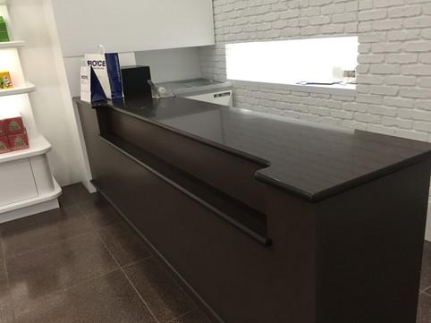Store Gloss Black Checkout Counter