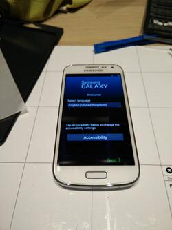 Samsung Galaxy S4 mini hersteld
