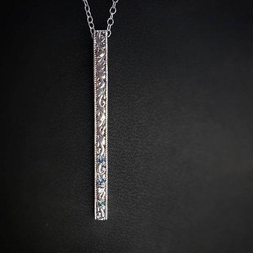 Elhalyn scrolls necklace