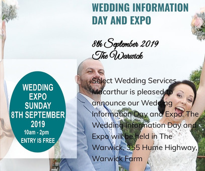 Select Wedding Services expo