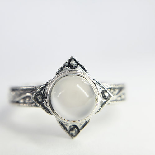 Aretuza moonstone ring