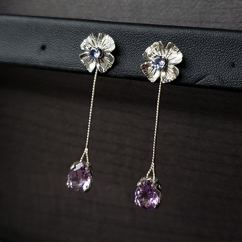 Alchemy convertibles with tanzanite and amethyst
