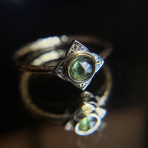 First day in Aretuza ring 14k YG