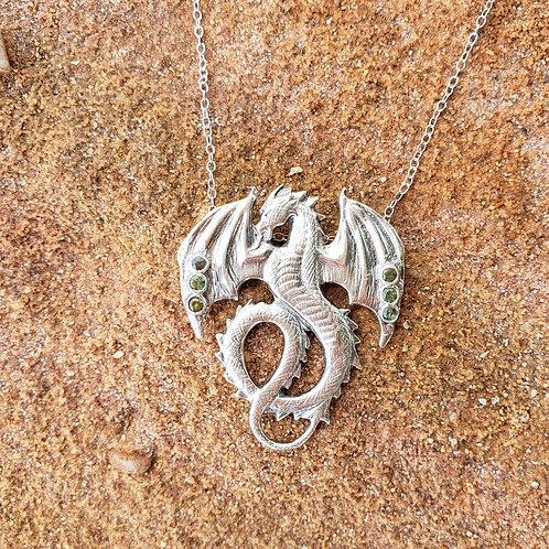 Forest Dragon pendant
