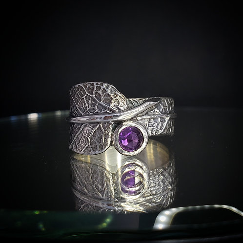 Reserved for Lisa Dryad wrap ring