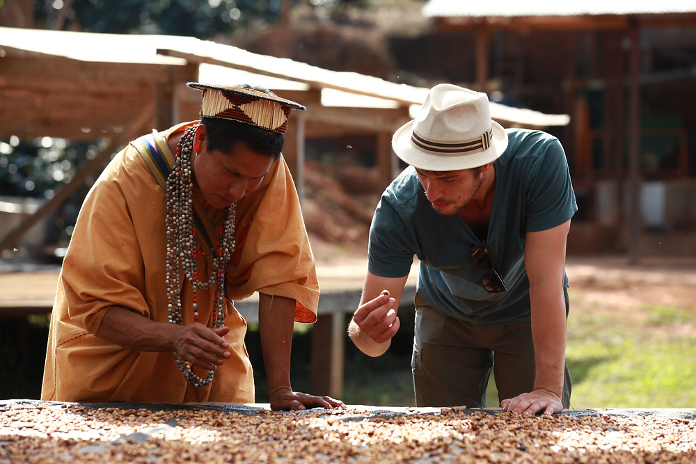 José with the Chief of the Mayni community