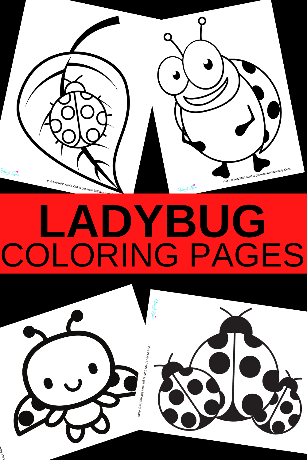 free download: ladybug coloring pages