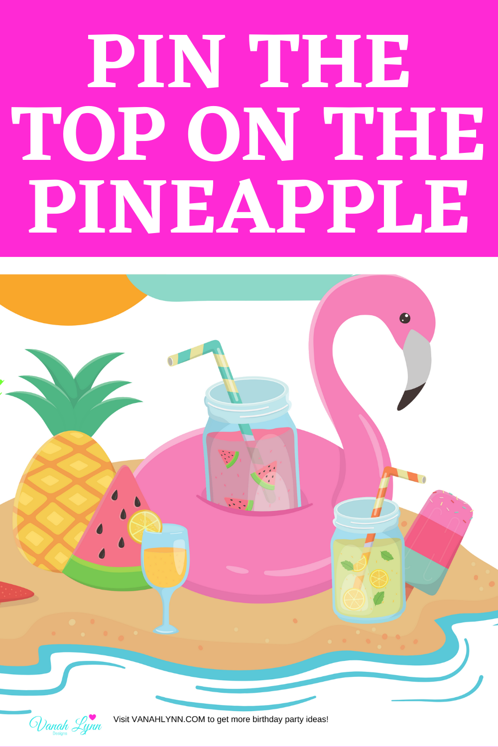 free printable tropical birthday party activities