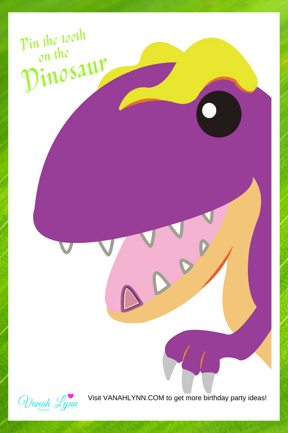dinosaur birthday party activities for kids