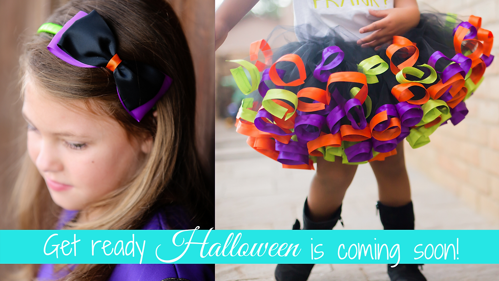 Get ready halloween is coming soon! tutus | Headbands