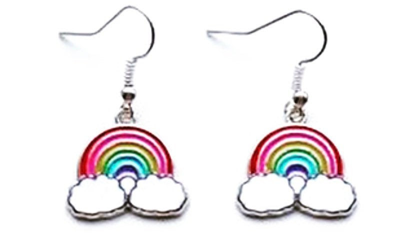 Rainbow themed accessories