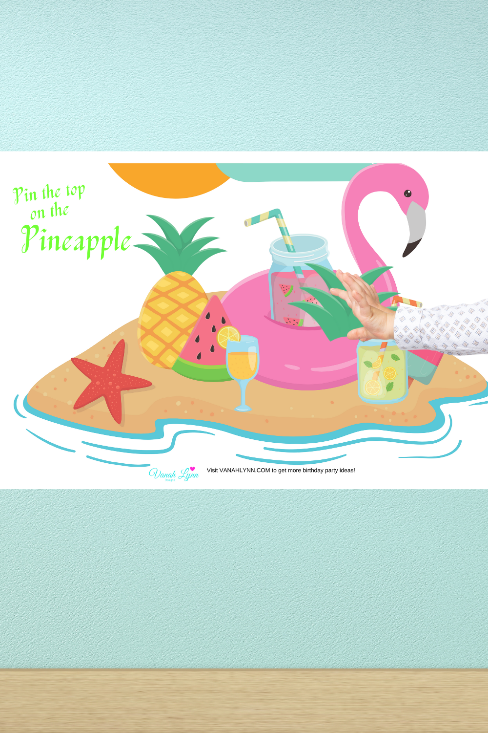 tropical flamingo birthday party games