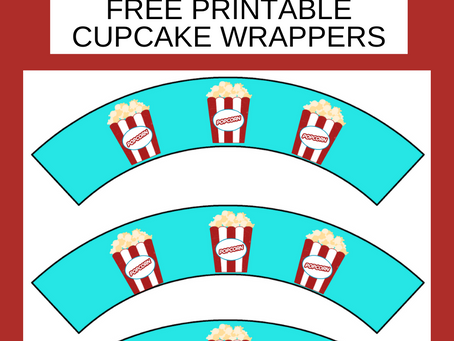 Carnival Cupcake Wrappers | Carnival Themed Birthday Party Décor | Free Printable Party Ideas