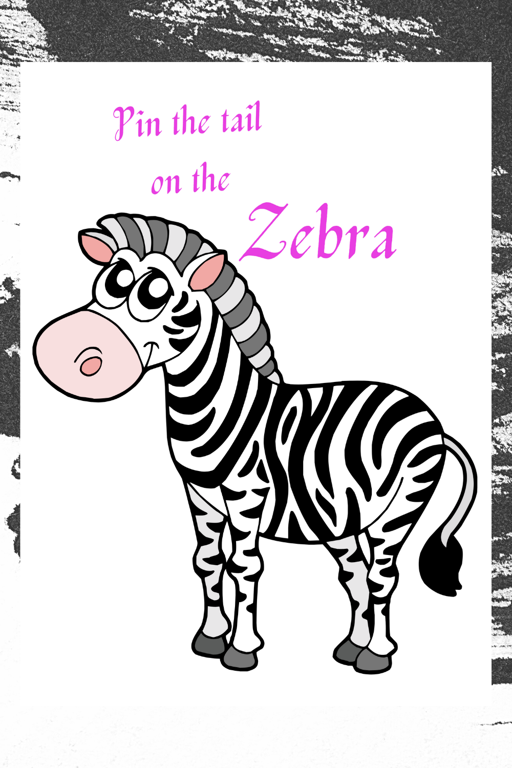 zebra birthday party games for kids