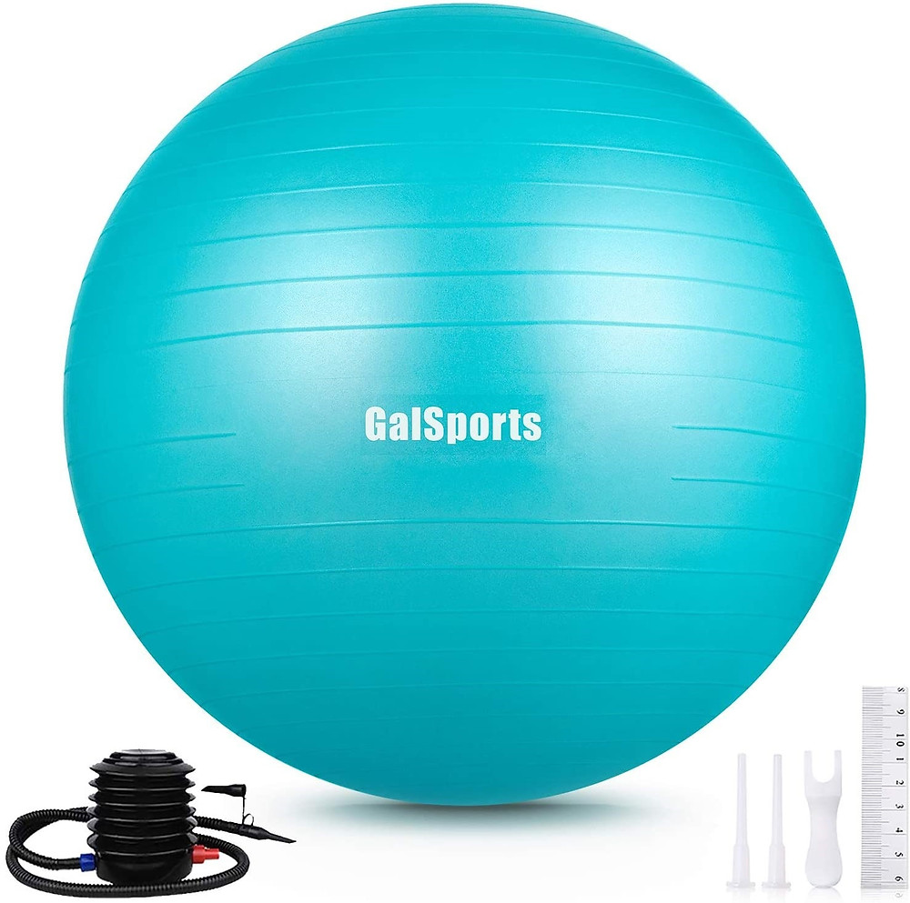 baby essentials first year: exercise ball