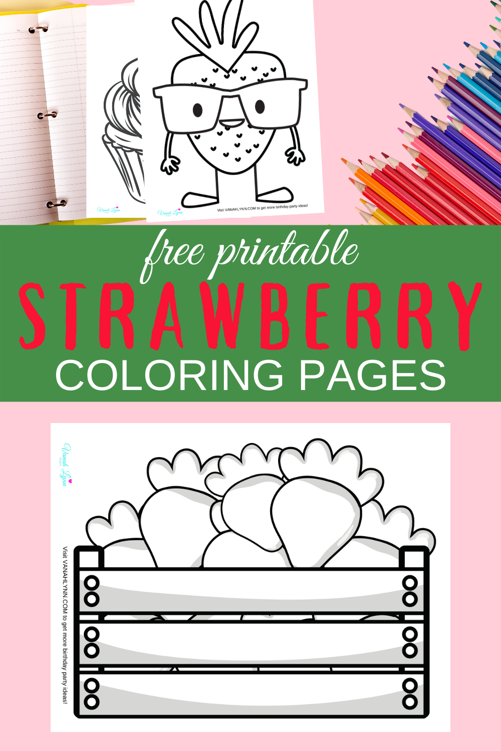 strawberry birthday party activities for toddler girl