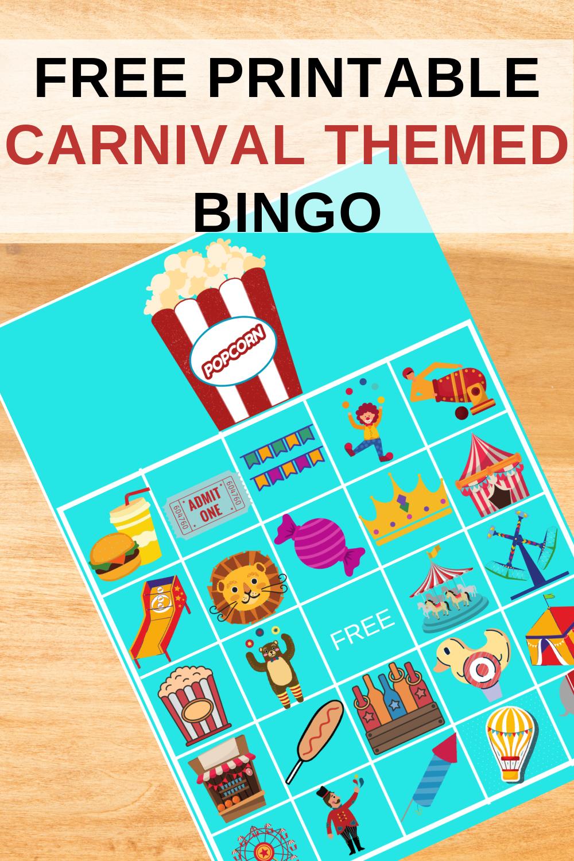 carnival birthday party activity ideas for preschooler