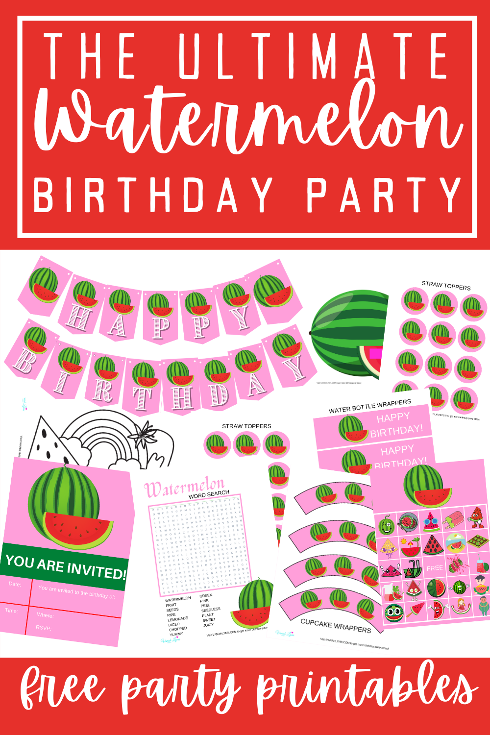 watermelon first birthday party ideas for kids