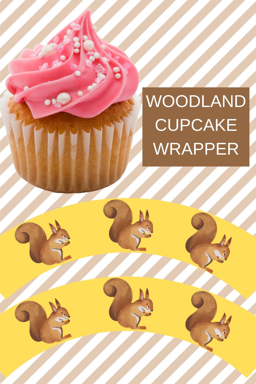 woodland 1st birthday free printable decorations