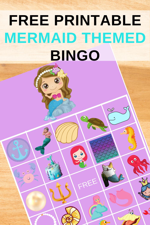 free printable mermaid birthday party ideas