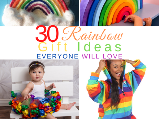 All Things Rainbow! Rainbow Gifts for Kids | Best Rainbow Gifts for Adults | Rainbow Birthday Gifts