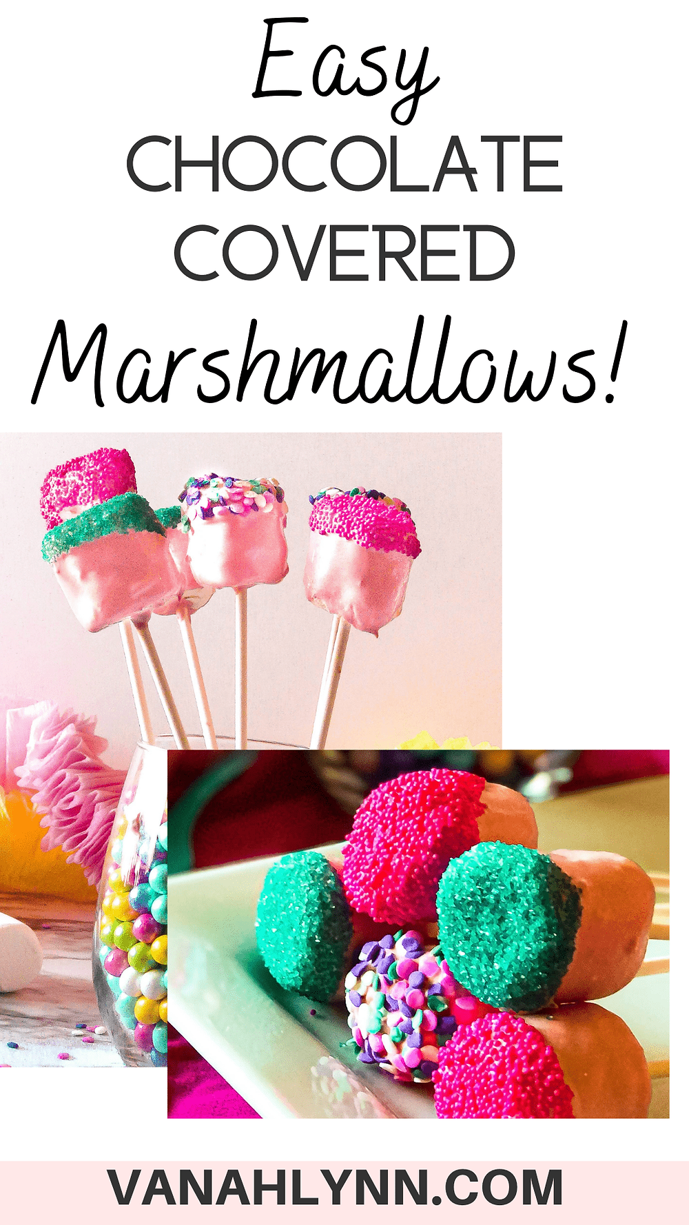 marshmallow pops for birthday party