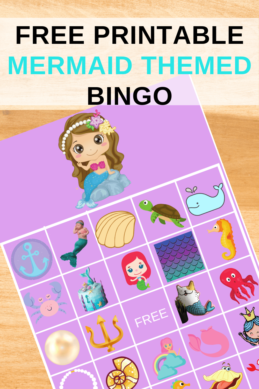under the sea bingo game